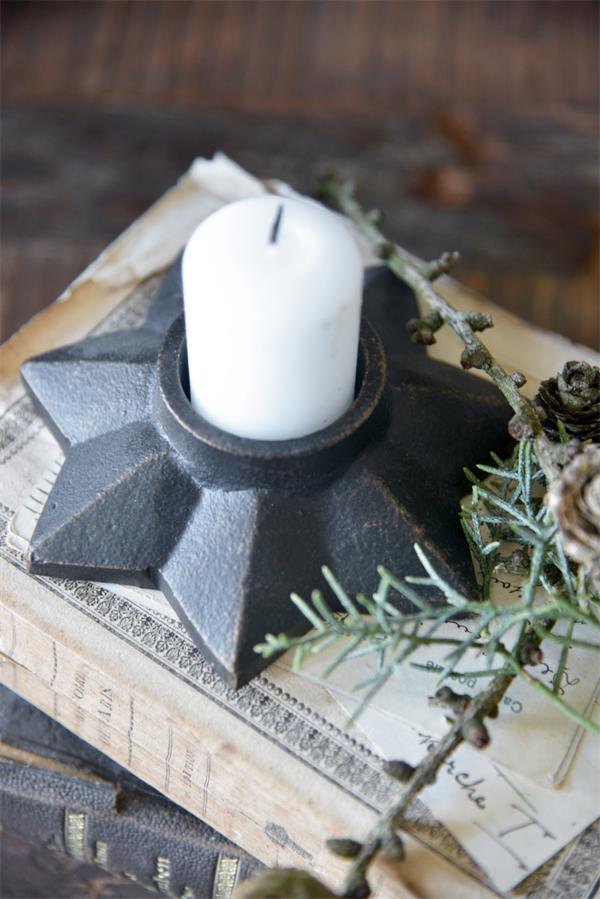 Kerzenständer Stern Ø 13 cm