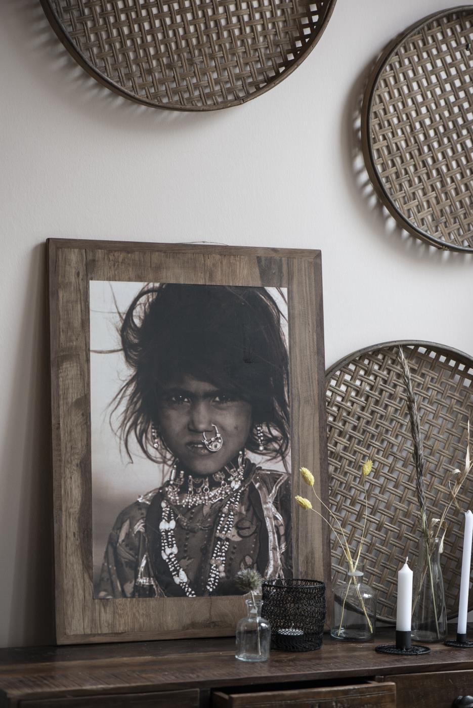 Wandbild Schwarz-Weiß