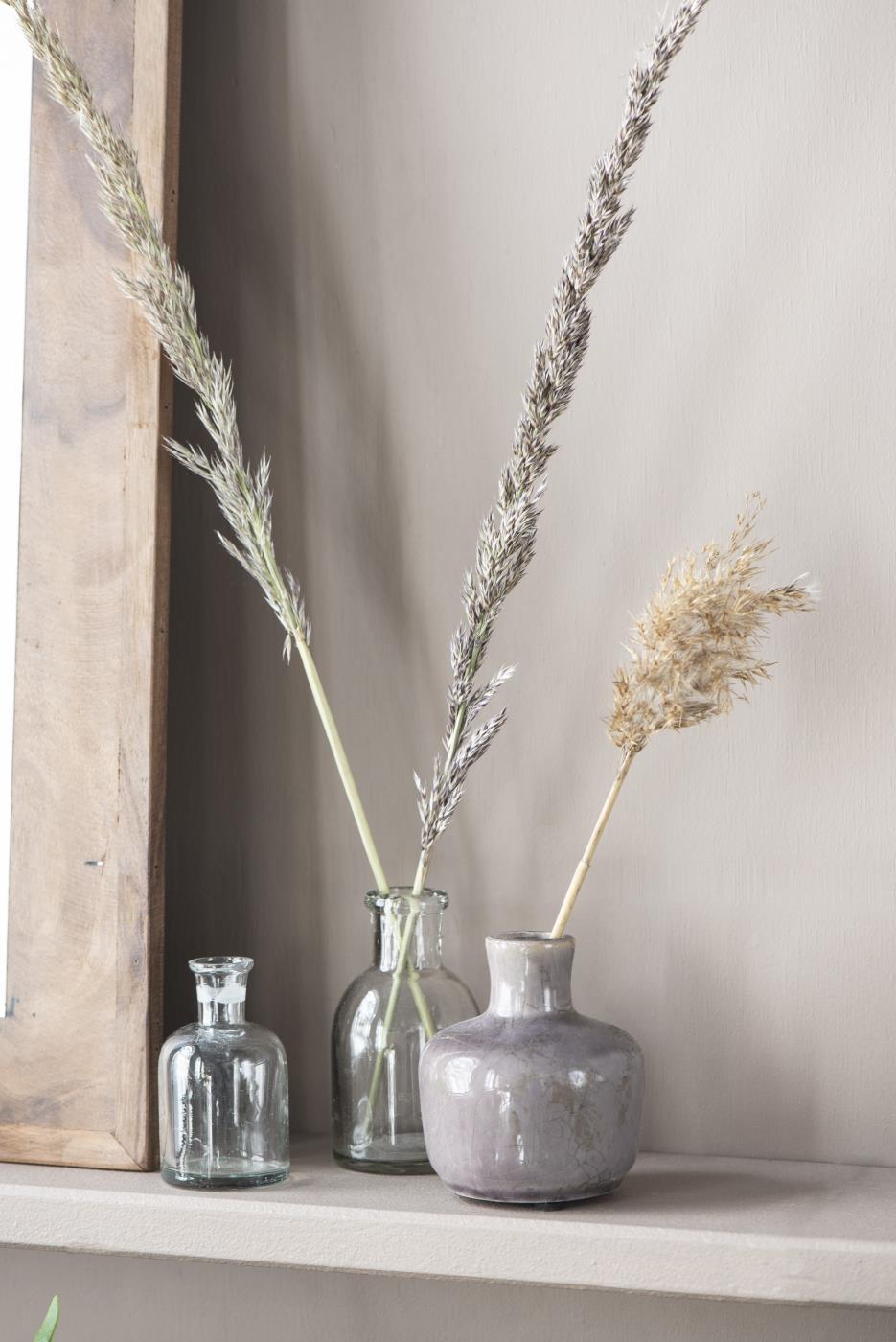 Vase mit krakelige Oberfläche