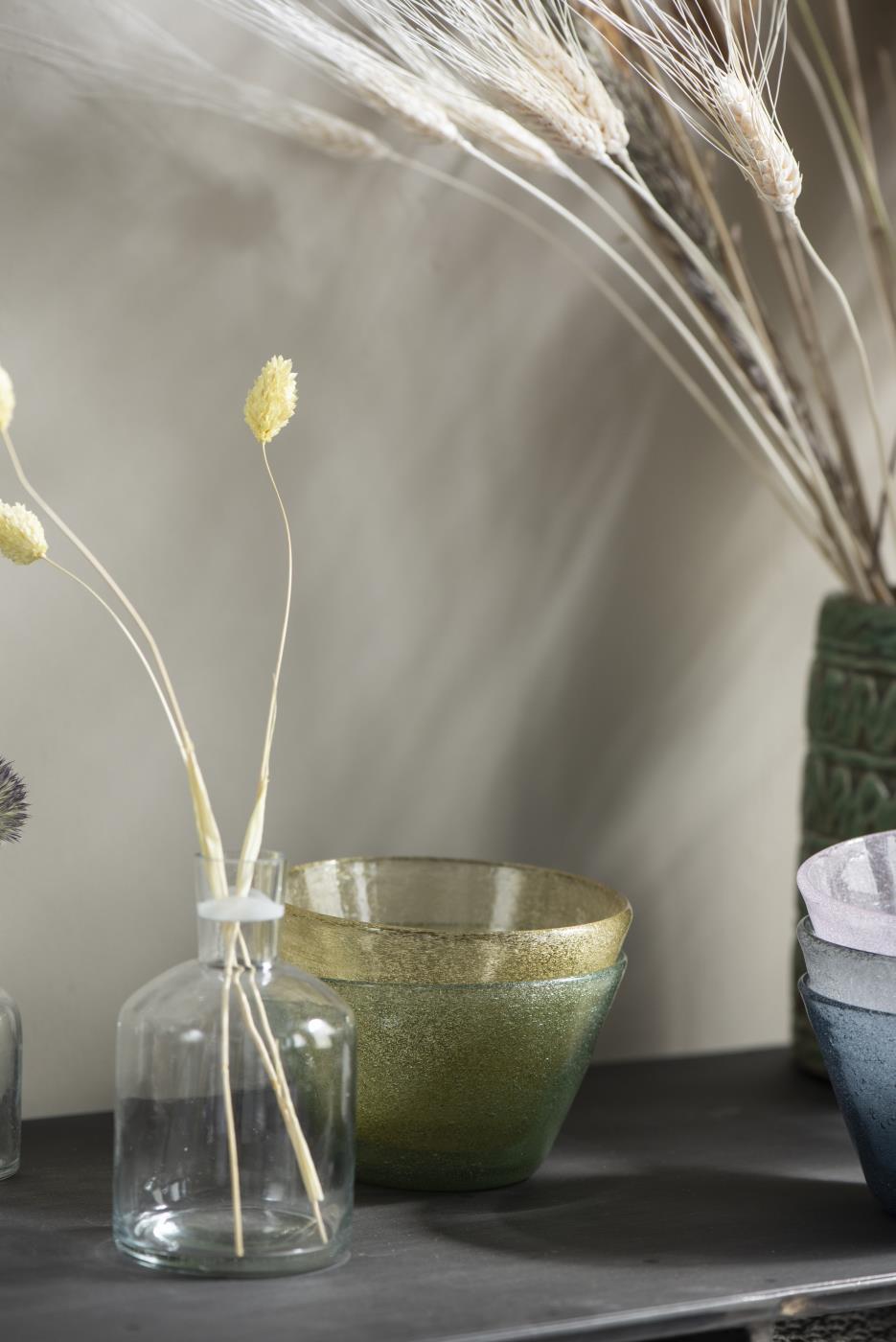 Vase / Kerzenhalter für Stabkerze