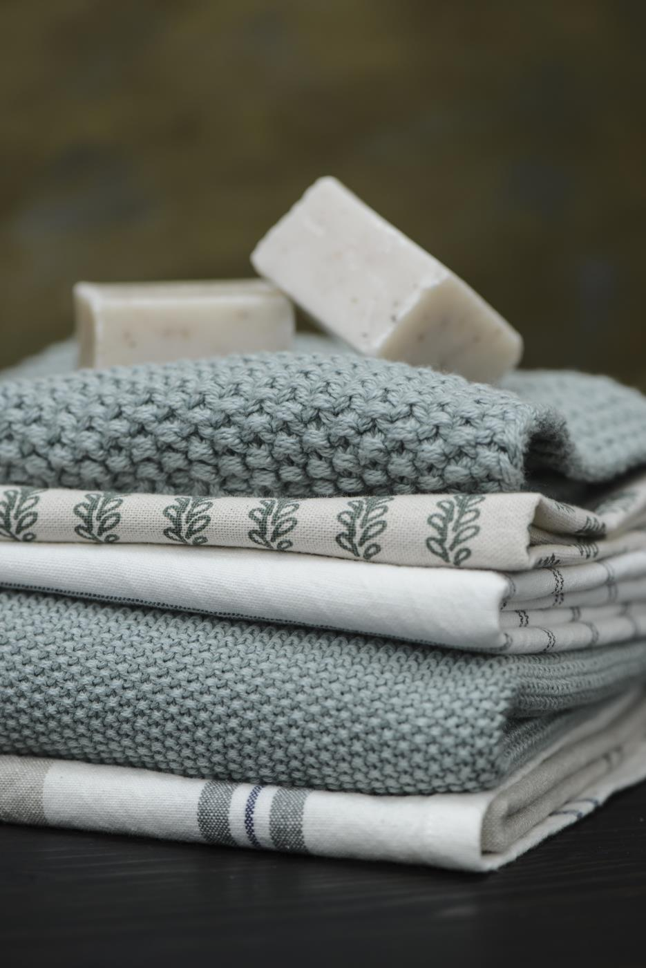 Geschirrtuch Streifen 100% Baumwolle