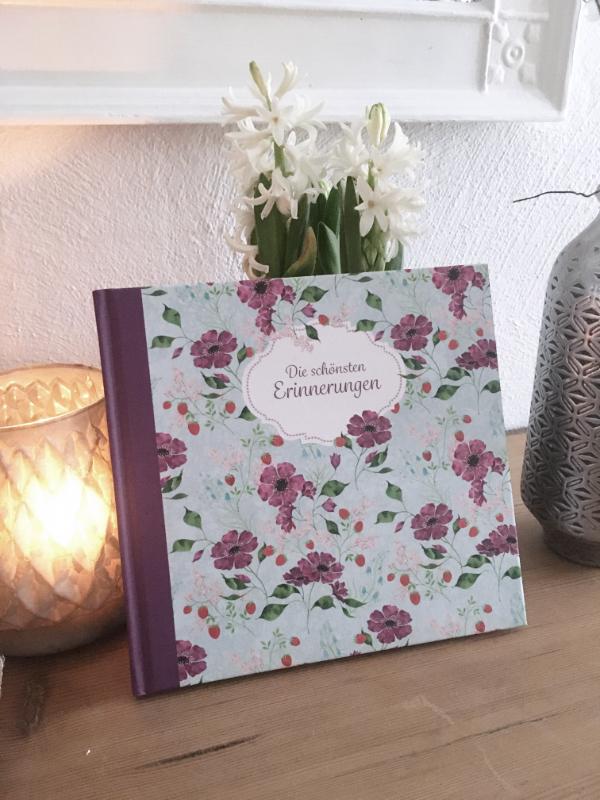 """Erinnerungsbuch """"Flowers"""""""